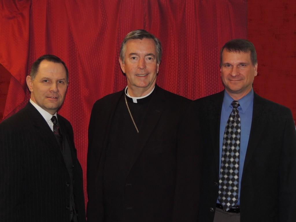 Alan Rock, Bishop Christensen and Matt Crowell