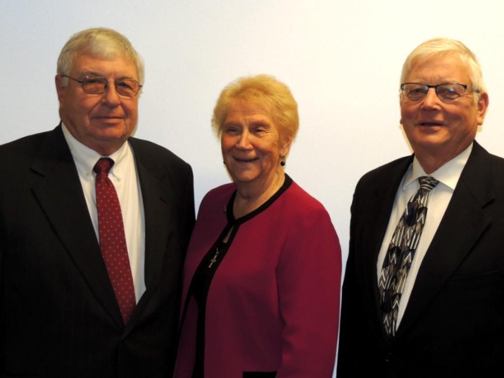 Jim Kumbera, Bluette Puchner and Jim Russ