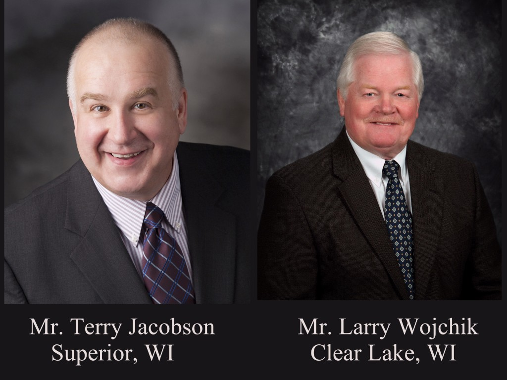 Pictured Terry Jacobson Larry Wojchik