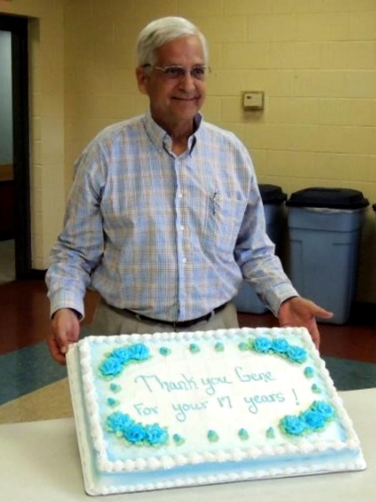 Gene Chuzles Farewell cake